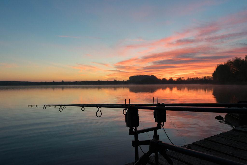 Sonnenaufgang im Herbst bedeutet für mich einpacken und ab zur Arbeit.