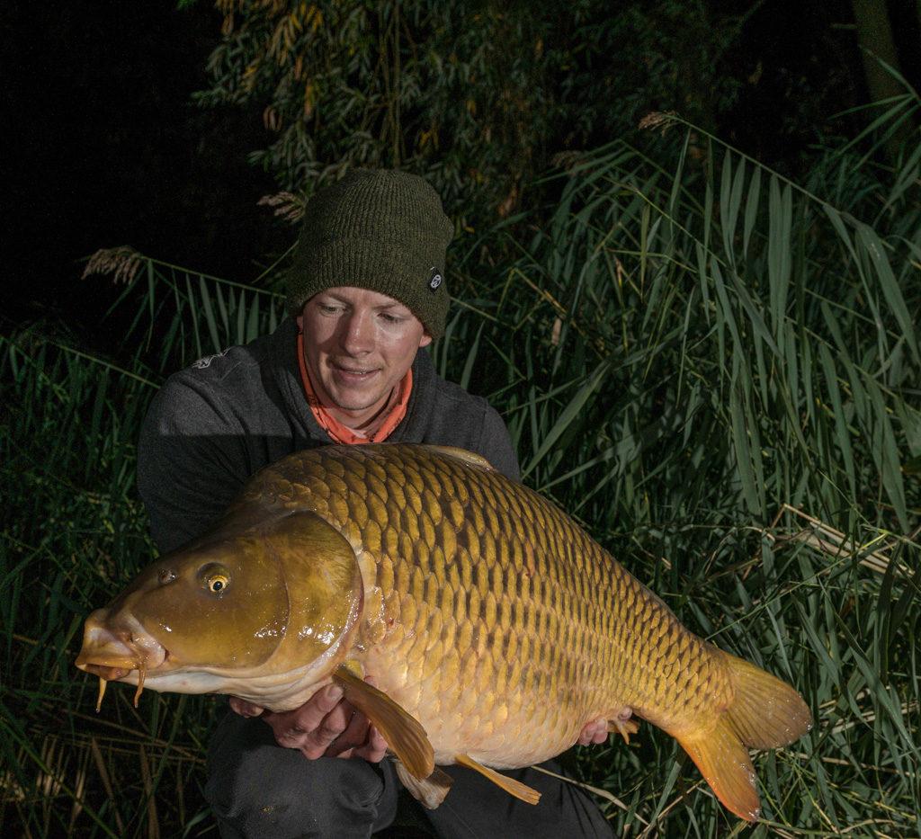 2-3 Fische pro Nacht waren keine Seltenheit.