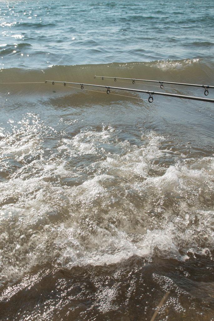 Angeln am eigenen Ufer